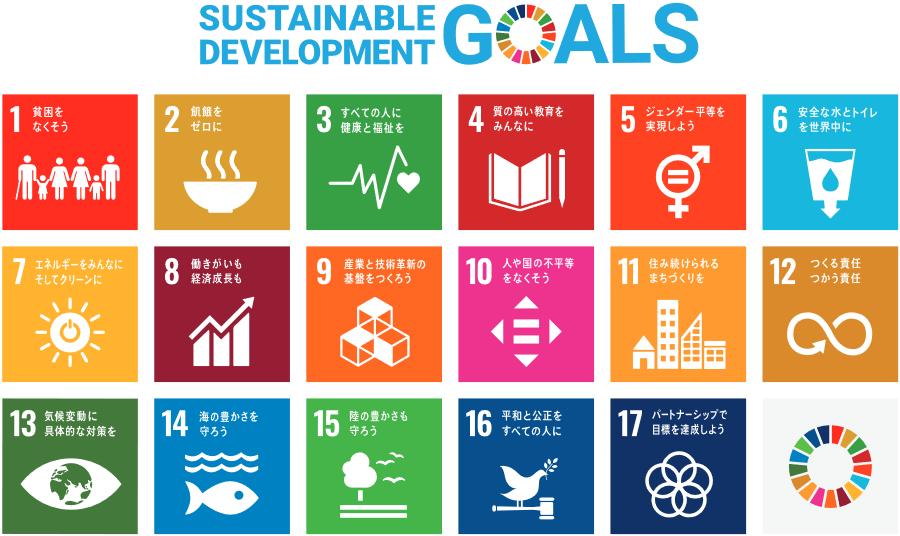 SDGs(エスディージーズ)持続可能な開発目標